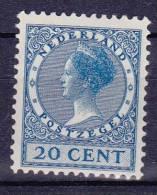NEDERLAND - Michel - 1926/39 - Nr 185A - MH* - Cote 25.00€ - 1891-1948 (Wilhelmine)