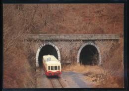 Association Des Autorails Bourgogne - Franche - Comte ( A.B.F.C ) N° 18 X 4039 Tunnel De Bruyeres - Trains