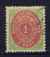 Danish West Indies: 1873, Mi 5 II B - Dänemark (Antillen)