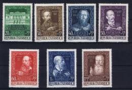 Österreich 1948 Mi 878-884, MNH/**