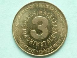 BERLIN 3 JOACHIMSTALER STR.14-19 KU'DORF / Anno 1975 ( Goudkleurig / Uncleaned - For Grade, Please See Photo ) ! - Allemagne