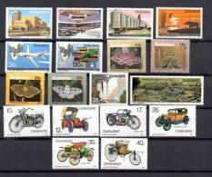 Année 1986 Complète Du Zimbabwe,  Yv. 112 / 129**, Cote 42 € - Zimbabwe (1980-...)