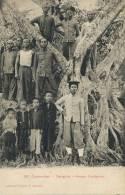 Saigon 287 Groupe D Indigenes Tirailleur Annamite Coll. Poujade De Ladevèze T.  Saigon1912 - Vietnam