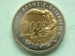 AUSTRAGUNGSORTE ÖSTERREICH 2008 / SCHWEIZ - ÖSTERREICH ( 13.2 Gr. Bicolor / Uncleaned - Details Zie Foto´s ) ! - Autres