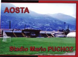 (530) Stadium - Stade - Aosta - Stadien