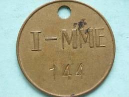 I - MME 144 (?) ( GeelKoperkleur 38 Mm. - 14 Gr. / Uncleaned - Details Zie Foto´s ) ! - Belgique