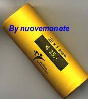 OLANDA PAYS-BAS ROTOLINO 25 X 1 Euro 2006 : AFFARONE VALORE 325 EURO - Rolls