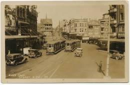 Sydney Kings Cross Tramways Tram Monte Carlo Café Real Photo - Sydney