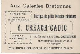 29 QUIMPER Aux Galeries Bretonnes - Alte Papiere