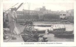 CASABLANCA - A La Marine , Débarquement Des Chameaux - Casablanca