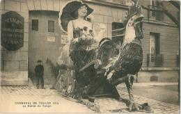 TOULON Carnaval 1914 Reine Du Tango Vins Du Domaine De L'Artaude Rue D'Alger - Toulon