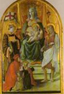 PRATO Galleria Di Palazzo Pretorio Filippo Lippi Madonna Del Ceppo XV°s, Vierge Enfant - Prato