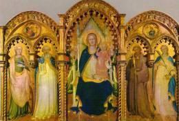PRATO Galleria Di Palazzo Pretorio Lorenzo Monaco Trittico XV°s Tryptique , Vierge - Prato