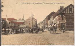 TONGRES Marché Aux Vaches Et Rue De Maestricht Marcovici - Tongeren