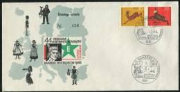 1966 Germany Bamberg Pentekoston Germana Esperanto Kongreso Brief - Esperanto