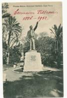Rhodes Statue Municipal Gardens Cape Town Le Cap Verset De Job Au Dos - Zimbabwe