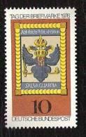 RFA - 1976 - YT N°752 - Journée Du Timbre - [7] Federal Republic
