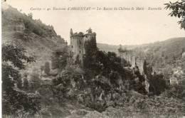 - CPA - 19 - Ruines Du Chateau De MERLE - 780 - France