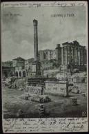 ROMA Colonna Di Foca - Saluti Da Roma - Viaggiata Nel 1903 Retro Indiviso Formato Piccolo - Roma