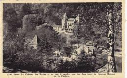 Trooz - le Ch�teau des Roches et une des tours de l'ancien Ch�teau de la Fenderie (peu vue)