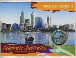Western Australia -- Celebrate Australia - $ 1 Coin --  Siehe Foto !!   (35150) - Australien