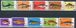 Maldives              411/420  **      Poissons/Fishes - Maldives (1965-...)
