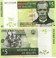 Malawi 5 Kwacha 2005 - UNC - Malawi