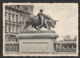 DF / BELGIQUE / LIEGE / LE TAUREAU PAR MIGNON / CIRCULEE EN 1950 - Liege