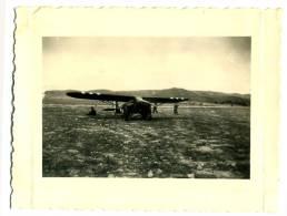 Photographie Privée Guerre D'Algérie Avion De Reconnaissance - War, Military