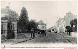77-BRIE-COMTE-ROBERT- Grande  Rue De Paris,partie Centrale-CLC Précurseur,dos 1900.comme Neuve - Brie Comte Robert
