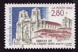 FRANCE  1993  -  Y&T 2825  - Abbaye De La Chaise-Dieu -  Oblitéré - Gebraucht