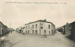 Depts Divers -maine Et Loire -ref 13- La Romagne -carrefour De La Route De Chalet Et De La Rue De L Eglise  - - Autres Communes