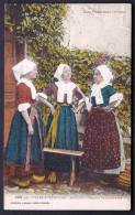 CPA ANCIENNE- FRANCE- MASSAT (09)- GROUPE DE LIADOURE EN COSTUME LOCAL- TRES GROS PLAN COULEUR- VOIR VERSO - Frankreich