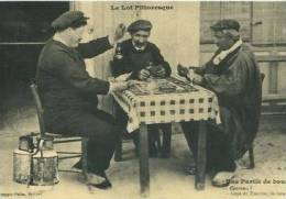 "CP46209 - LE LOT PITTORESQUE - "" Une Partie De Bourre"" (Reproduction) - Altri Comuni"
