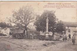 TREPAIL - Le Calvaire élevé En 1772 à La Mémoire Des Enfants De Trépail Morts Pour La Patrie Dép51 (carte En état 2scan) - Frankrijk
