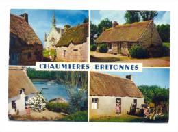 France, Bretagne, Le Pays Bigouden Tronoën, Le Phare D'Eckmuhl, Un Port Bigouden - Bretagne
