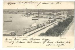 SIRACUSA 1906 Veduta Del Porto Grande Con Barche - Siracusa