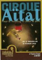 CP Publicitaire - Cirque Aital - Cirque