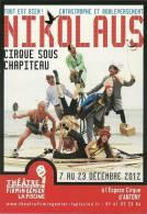 CP Publicitaire - Cirque - Nikolaus - Cirque