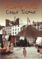 CP Publicitaire - Romanès Cirque Tsigane - Cirque