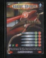 DOCTOR DR WHO BATTLES IN TIME EXTERMINATOR CARD (2006) NO 3 OF 275 ROBOT SPIDER PRISTINE - TV & Kino