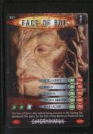 DOCTOR DR WHO BATTLES IN TIME EXTERMINATOR CARD (2006) NO 21 OF 275 FACE OF BOE PRISTINECONDITION - TV & Kino