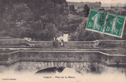 LANGRES - PONT SUR LA MARNE(dil23) - Langres