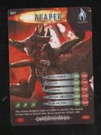 DOCTOR DR WHO BATTLES IN TIME EXTERMINATOR CARD (2006) NO 47 OF 275 REAPER PRISTINE CONDITION - TV & Kino