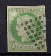 EMISIONES GENERALES, CÉRÉS, YVERT 17 CANC., AÑO 1872/77, COLONIAS FRANCESAS - Ceres