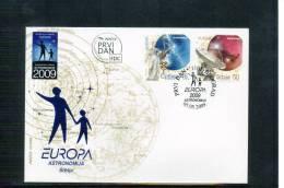Serbien / Serbia 2009 Europa Cept Satz / Set FDC - Europa-CEPT