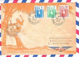 Nouvelle Caledonie Cachet A Date Annexe Mobile Voh Cagou Oiseau 1985 BE RR - Non Classés