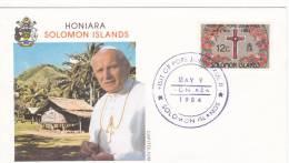 Pope John Paul II - Visit: 1984 Solomon Islands (A435) - Popes