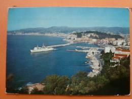 V9-06-nice-le Port--sortie De Bateau--1970 - Transport Maritime - Port