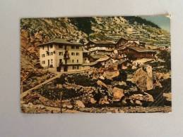 VALSAVARNANCHE HOTEL ET PENSION COL LOVSON  INVIATA BUONO STATO - Aosta